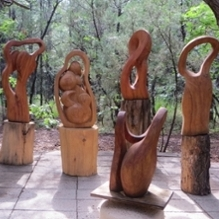 Natural Resources: Dennis Cady Sculptures, Paintings, and Prints