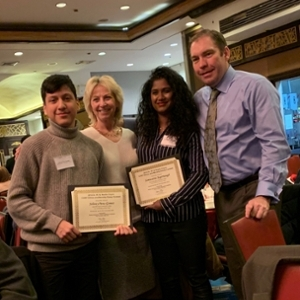 QCC Students Johnny Pena-Gomez and Somwattie Jagernaugh received Honorable Mention in the 2018 Dr. K. York and M. Noelle Chynn CUNY Ethics and Morality Essay Contest