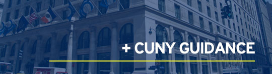 CUNY Guidance Update