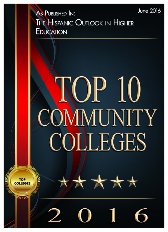 Top 100 Community Colleges of 2016 as published in The Hispanic Outlook in Higher Education