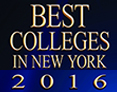 BestColleges.com 2016 Best College in New York award recipient