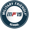 2015 Military Friendly School Logo.