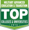 Military Advanced Education and Transition Top colleges and universities award in 2014
